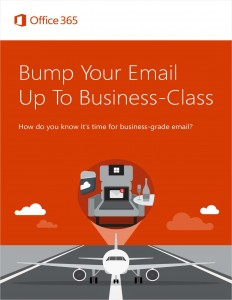 Bump Your Email Up To Business Class
